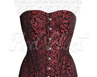 Custom Victorian overbust corset