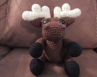 Amigurumi Mostyn the Moose