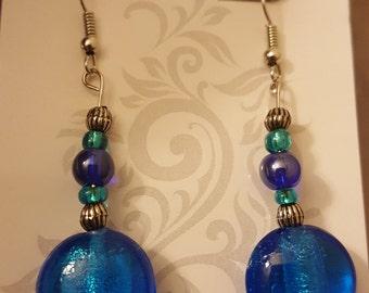 Cool Blue earrings