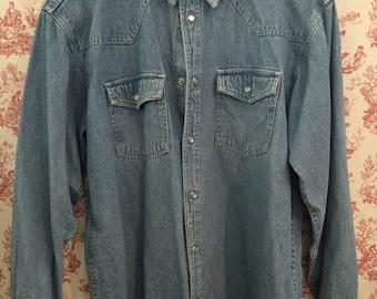 Western shirt Jeans