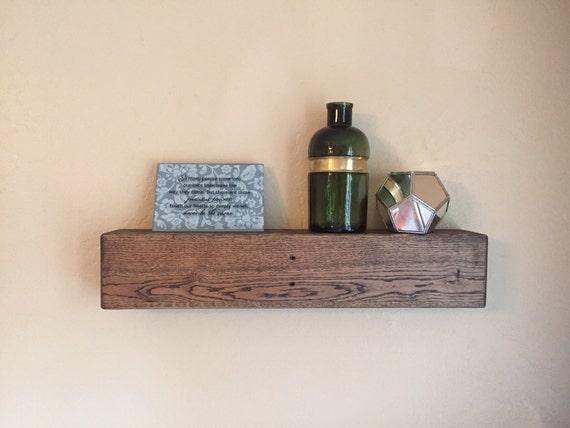 20 floating shelf reclaimed wood shelves pallet by dfrwoodshop for Pallet floating shelves