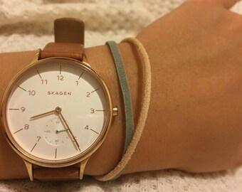 Leather Suede Bracelet