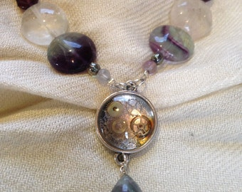 Steampunk - 'The Ancient' Artisan Necklace