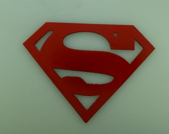 Metal Art Superman Logo