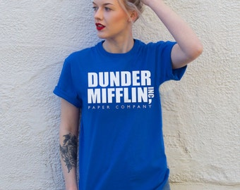 Dunder Miiflin Short Sleeve Tee   The US Office