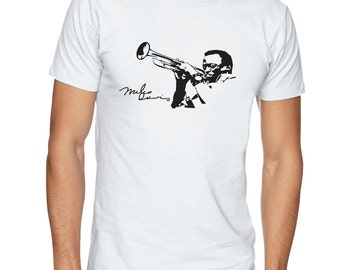 MILES DAVIS t-shirt. Music t shirt. Mens tshirt. Gift for men. Music tee, Streetwear Fashion T-Shirts, apparel, clothing by FET.tees.