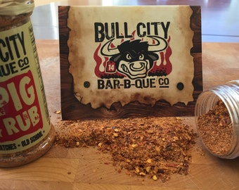 Individual Rubs (Pig, Poultry, Beef, Rib, or Wing)