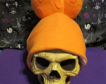 Squid Inspired Inkling Splatoon Hat for boys. Short tentacles. Pick a color.
