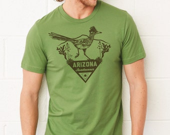 Greater Roadrunner - Arizona Series: Adult's Soft-Blend T-Shirt