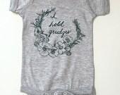 I Hold Grudges- Infant Fine Jersey Bodysuit