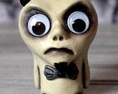 Ashe Devil Minion Demon Monster Clay Doll Mini Sculpture Creepy Doll Art Halloween Gothic Creature