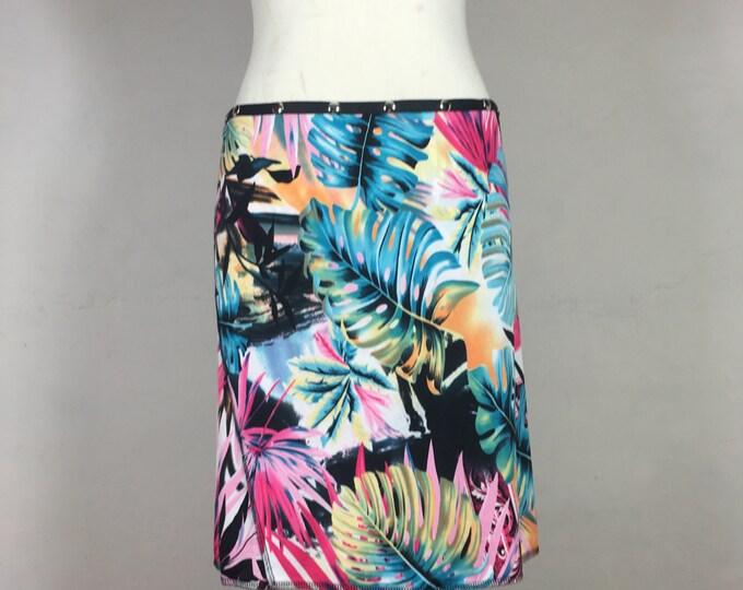 "Snap Around Skirt. ""Classic Fronds"" Erin MacLeod Skirt"