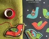 winter birds : 10 stitchable ornaments or gift tags to embroider