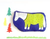 Heat pack with horse or shetland pony illustration an alternative Hot Water bottle or Hottie. Cool pack and heating pad