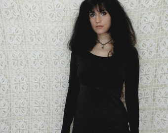 long sleeve minidress // monday