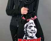 Zombie Horror Movie Tote Bag Purse
