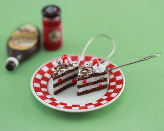 Black Forest Cake Earrings