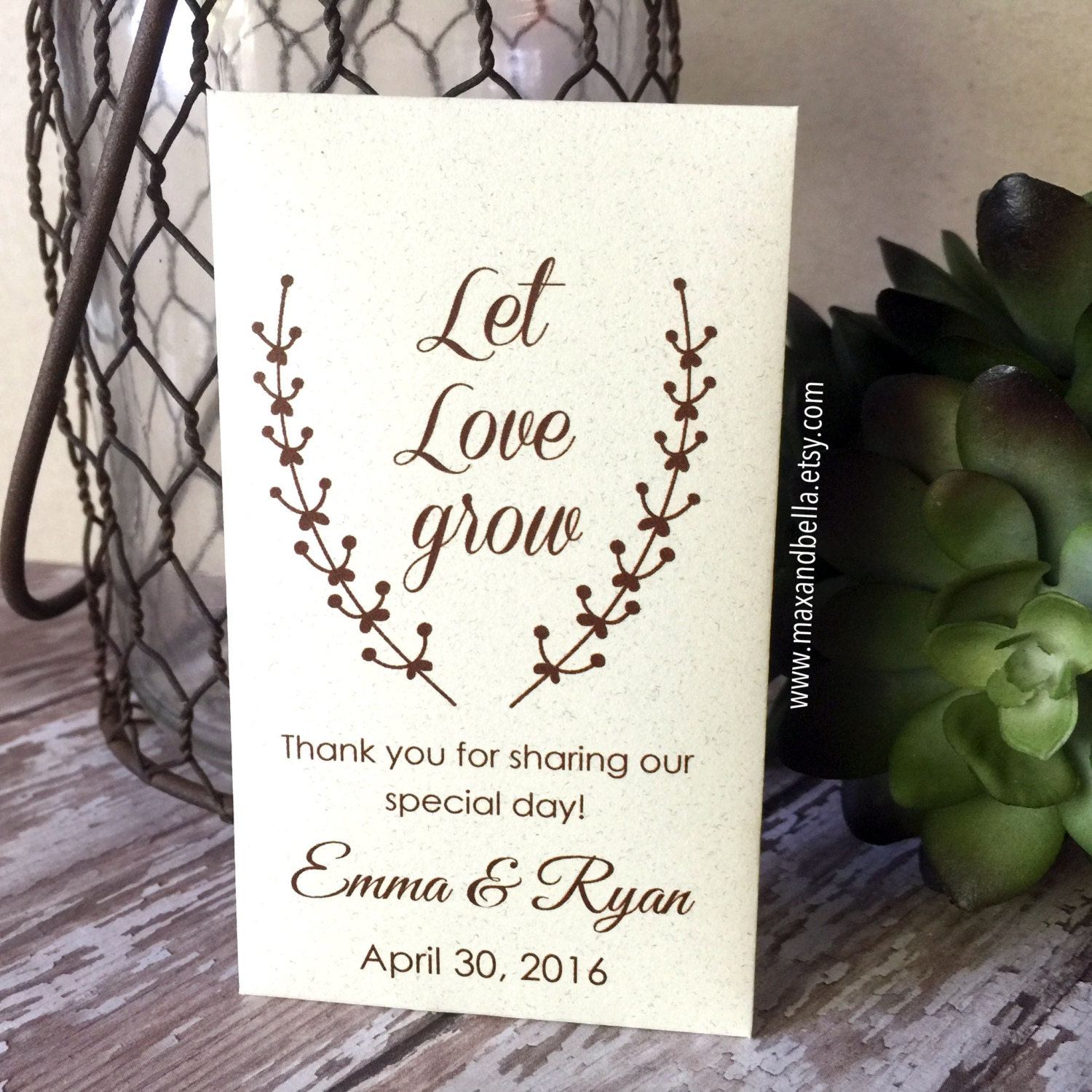 Sunflower Seed Packets For Wedding Favors Images - Wedding ...