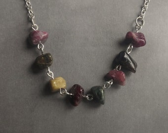 Tourmaline Chips Necklace