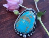Reserved for Stepanie: Turquoise Cocktail Ring
