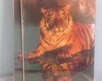 Vintage Trapper Keeper The Organizer Tiger