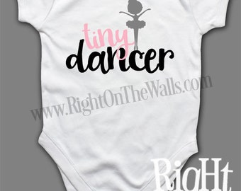 Tiny Dancer Short Sleeve One Piece Toddler Shirt Babies T-Shirt tshirt