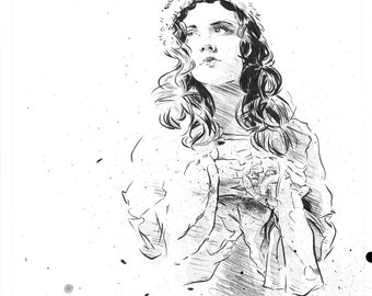 Lydia Loveless - Original Illustration