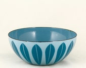 Cathrineholm Blue Lotus Enamel Bowl