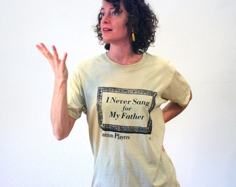 80s Theater T-shirt, I Never Sang For My Father, Antrim Players, Broadway Play T-shirt, Family Drama Tee, Screen Stars T-shirt, M