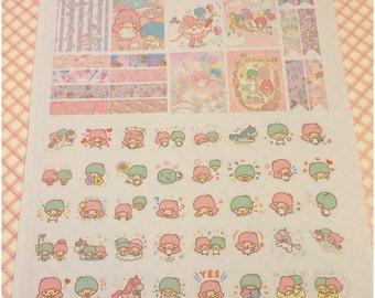 Star Friends Pastel Life Planner Stickers~
