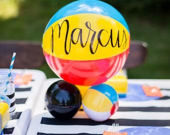 Personalized Beach Balls