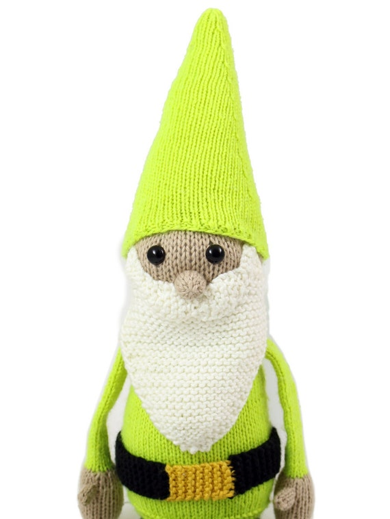 New Gilbert The Garden Gnome Knitting Pattern Pdf Instant
