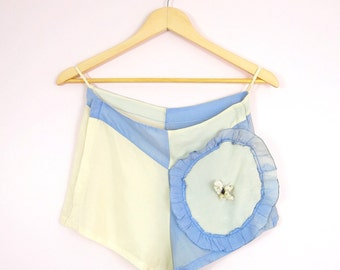 1940s Burlesque Tap Panties Shorts S
