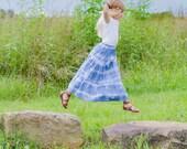 Girl's Maxi skirt - Little girls maxi skirt - Toddler Maxi skirt -Girls long skirt - Girls Maxi dress - BOHO - Spring skirt - Summer skirt
