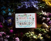 What A Wonderful World - Greeting Card