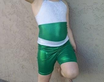 Toddler gymnastic shorts, kids gymnastic shorts, gymnastic skirt, kids dance shorts, gymnastics shorts, custom fabric choices