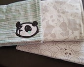 RESERVED set of burp cloths for Destinee