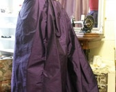 "READY TO SHIP Steampunk Skirt, Josephine Victorian Underskirt, Bustle Skirt, 32""-34"" waist"