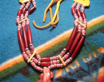 Hair Pipe Choker-Native American Style