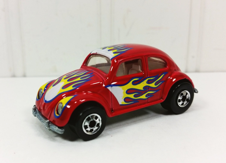 hot wheels vw bug 1991 mattel hot wheel series red with. Black Bedroom Furniture Sets. Home Design Ideas