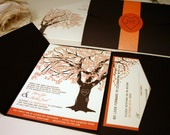 RESERVED for Christie Duppler, Balance of Oak Tree Invitations & Accessories