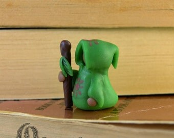 Tiny Druid Figurine