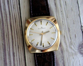 Vintage Swiss Bucherer Wrist Watch by avintageobsession on etsy