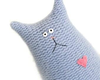Stuffed Animal Cat- Cat Plush Toy - Cashmere Cat - Wool Cat - Cat Lover Gift - Child Soft Toy - Stuffed Toy - Plush Animal - Soft Toy Cat