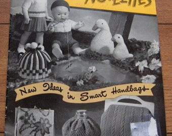 vintage Beehive Toys and Novelties knitting crochet patterns Doll Clothes and Toys stuffed animals bags tea cozies