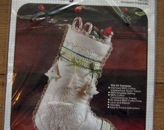 Bucilla stocking kit Candlewicking DOVE 15 inches NIP