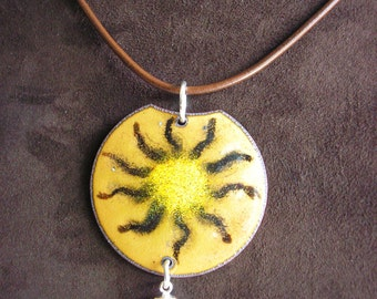 EnamelArt Sun Necklace