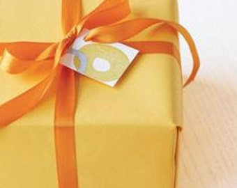 Gift Wrap Upgrade with Gift Card for Special Occasions