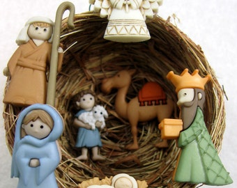 Gifts for the Baby Jesus from the Magi and Shepherds 210