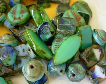 Czech Picasso Beads, Assorted Beads, Below Par Lot #2